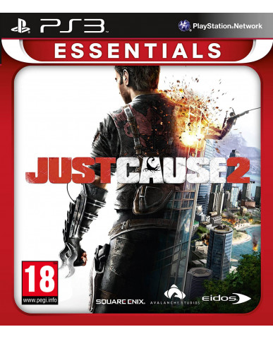 JUST CAUSE 2 ESSENTIALS - PS3 GAME