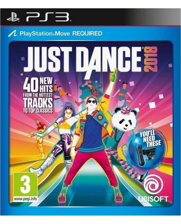 JUST DANCE 2018 - PS3 GAME