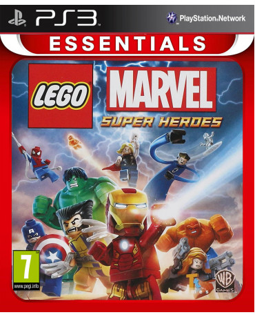 LEGO MARVEL SUPER HEROES ΜΕΤΑΧ. - PS3 GAME