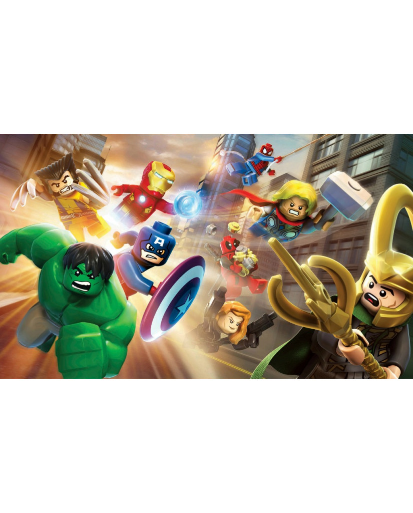LEGO MARVEL SUPER HEROES ESSENTIALS - PS3 GAME