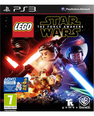 LEGO STAR WARS: THE FORCE AWAKENS + ΔΩΡΟ SPINNER - PS3 GAME