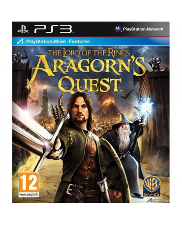 THE LORD OF THE RINGS ARAGORN'S QUEST - PS3 GAME
