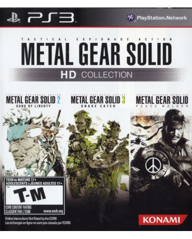 METAL GEAR SOLID HD COLLECTION - PS3 GAME