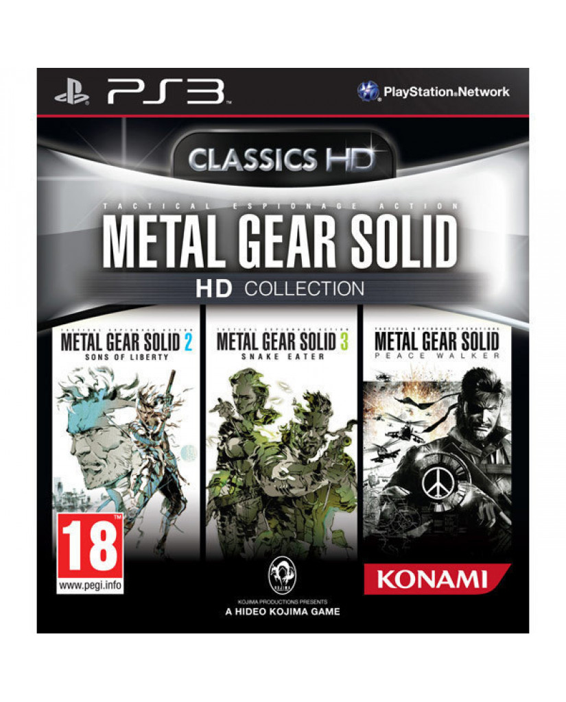 METAL GEAR SOLID THE LEGACY COLLECTION - PS3 GAME