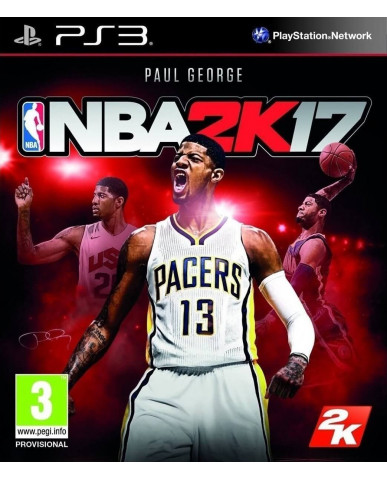 NBA 2K17 - PS3 GAME