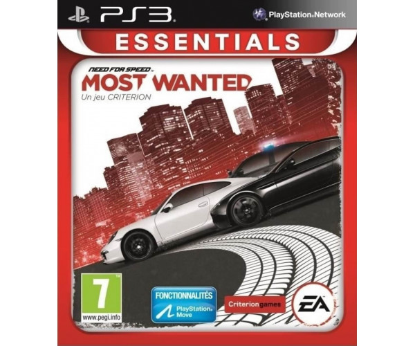 NEED FOR SPEED MOST WANTED ESSENTIALS - PS3 GAME
