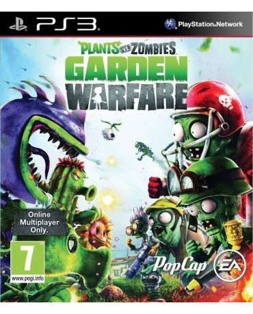PLANTS VS ZOMBIES: GARDEN WARFARE - PS3 GAME