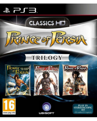 PRINCE OF PERSIA TRILOGY HD - PS3 GAME