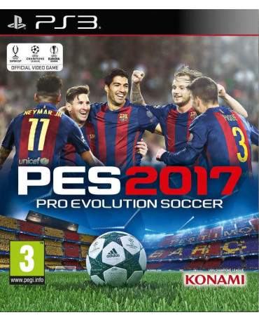 PRO EVOLUTION SOCCER 2017 ME ΕΛΛΗΝΙΚΗ ΕΚΦΩΝΙΣΗ ΜΕΤΑΧ. - PS3 GAME