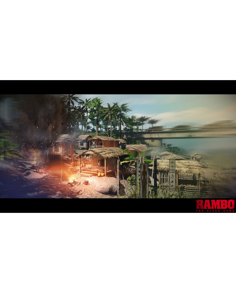 RAMBO: THE VIDEO GAME - PS3 GAME
