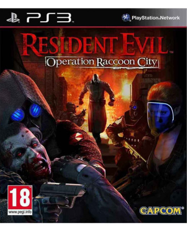 RESIDENT EVIL ORERATION RACCOON CITY- PS3 GAME