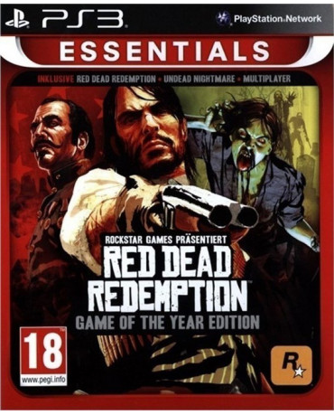 RED DEAD REDEMPTION GAME OF THE YEAR EDITION ESSENTIALS - PS3 GAME