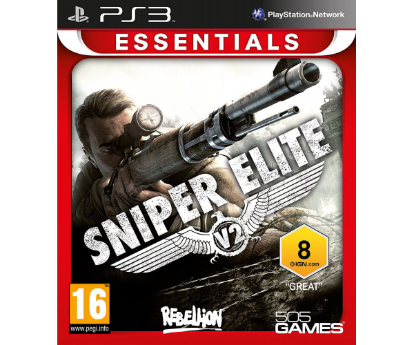 SNIPER ELITE V2 ESSENTIALS ΜΕΤΑΧ. - PS3 GAME