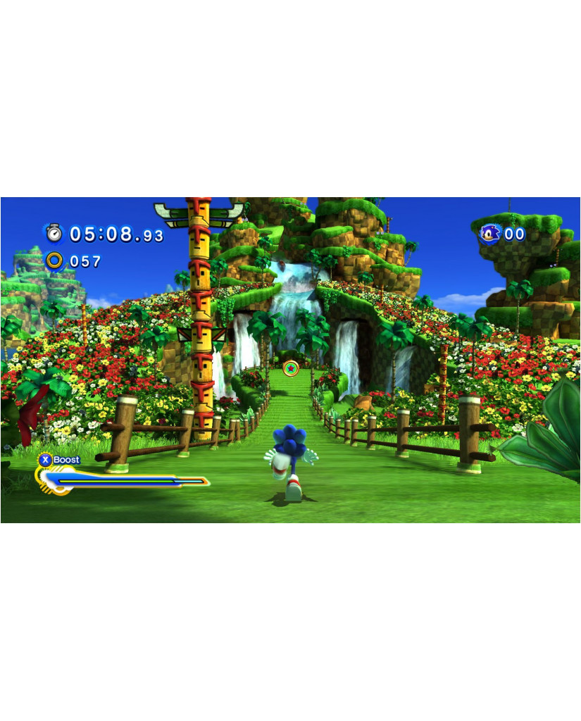 SONIC GENERATIONS ESSENTIALS - PS3 GAME
