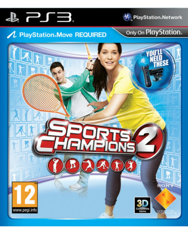 SPORTS CHAMPIONS 2 ΜΕΤΑΧ. - PS3 GAME