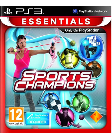 SPORTS CHAMPIONS ESSENTIALS – PS3 GAME