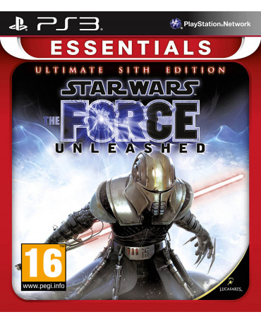 STAR WARS: THE FORCE UNLEASHED ULTIMATE SITH EDITION ESSENTIALS METAX. - PS3 GAME