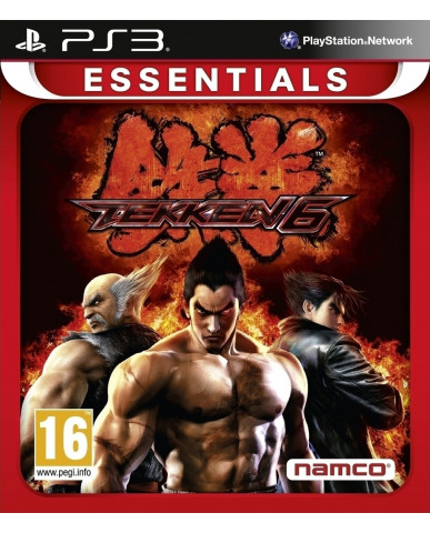 TEKKEN 6 ESSENTIALS - PS3 GAME