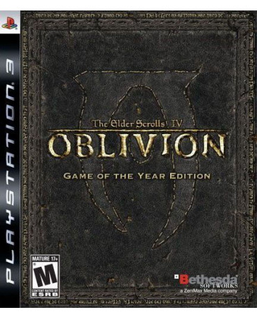 THE ELDER SCROLLS IV: OBLIVION GAME OF THE YEAR EDITION ΜΕΤΑΧ. - PS3 GAME