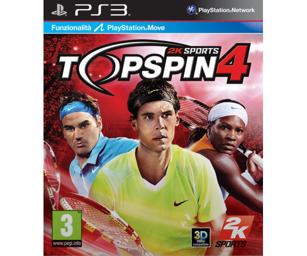 TOP SPIN 4 ΜΕΤΑΧ. – PS3 GAME