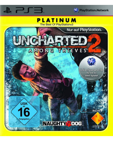 UNCHARTED 2 AMONG THIEVES PLATINUM ΜΕΤΑΧ. - PS3 GAME