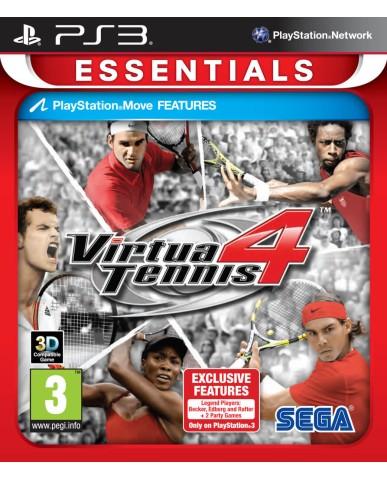 VIRTUA TENNIS 4 ESSENTIALS ΜΕΤΑΧ. - PS3 GAME