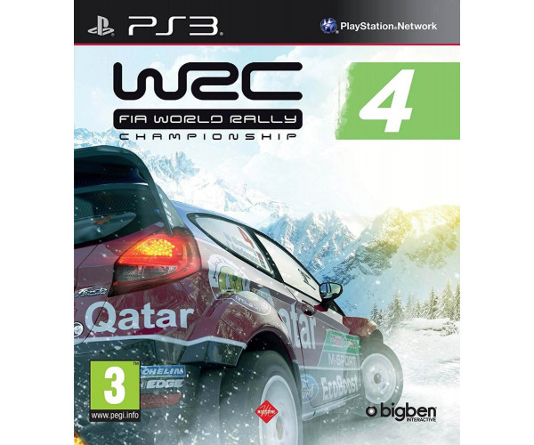 WRC 4 ΜΕΤΑΧ. - PS3 GAME