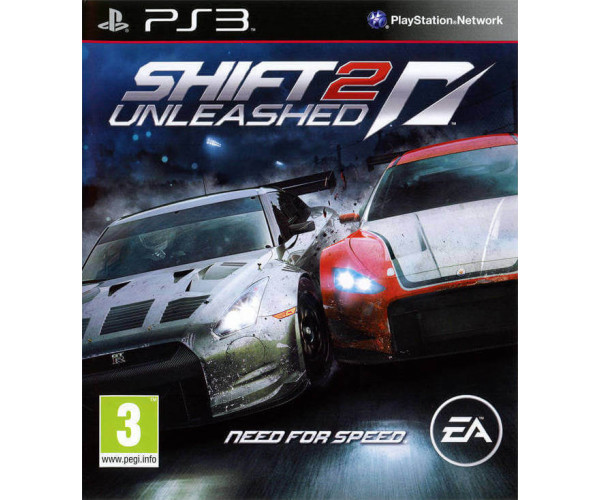 NEED FOR SPEED SHIFT 2 UNLEASHED METAX. - PS3 GAME