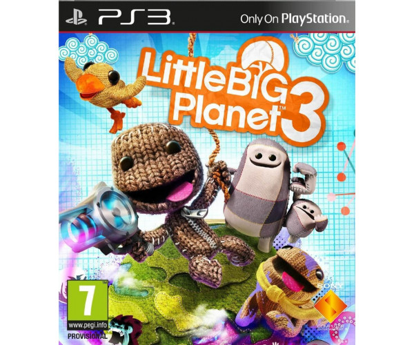LITTLE BIG PLANET 3 - PS3 GAME
