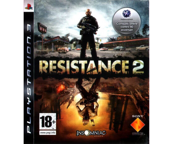 RESISTANCE 2 METAX. - PS3 GAME