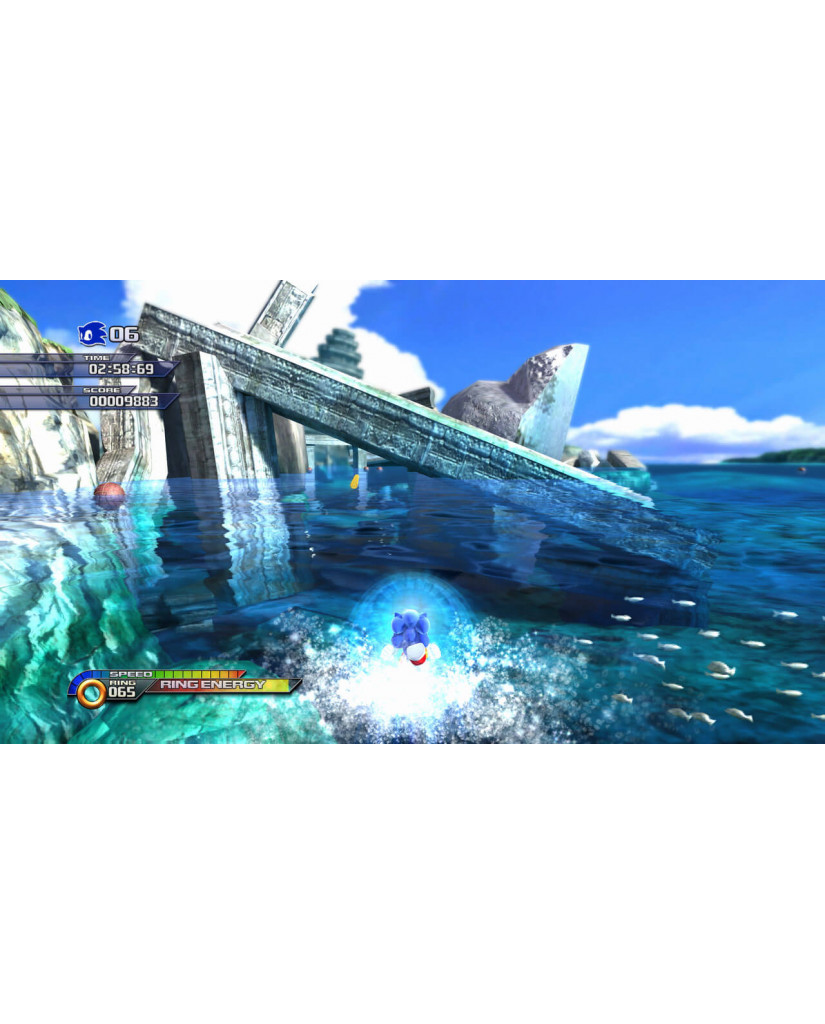 SONIC UNLEASHED ESSENTIALS - PS3 GAME