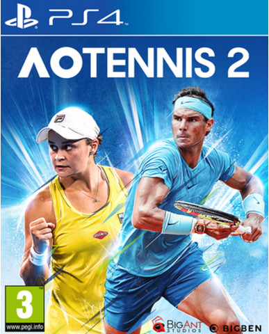 AO TENNIS 2 - PS4 NEW GAME