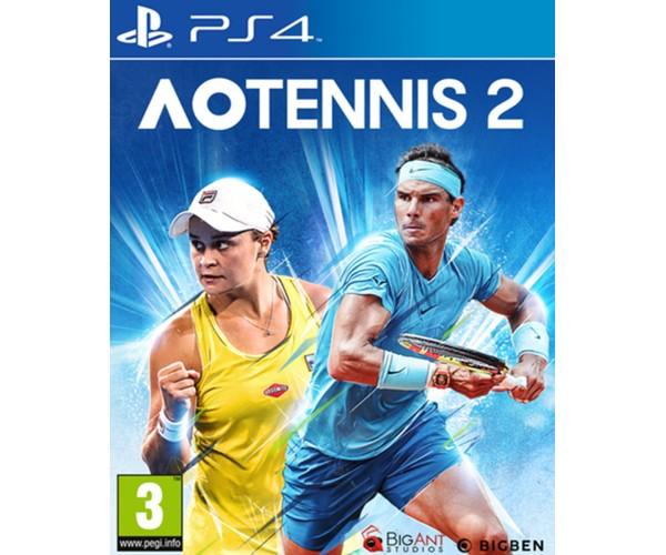 AO TENNIS 2 - PS4 NEW GAME