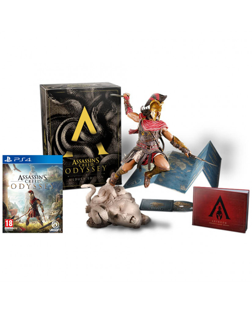 ASSASSIN'S CREED ODYSSEY MEDUSA COLLECTOR'S EDITION – PS4 NEW GAME