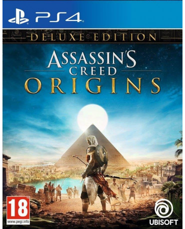 ASSASSIN'S CREED ORIGINS DELUXE EDITION - PS4 NEW GAME