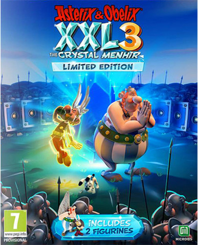 ASTERIX & OBELIX XXL3 : THE CRYSTAL MENHIR (LIMITED EDITION) - PS4 GAME