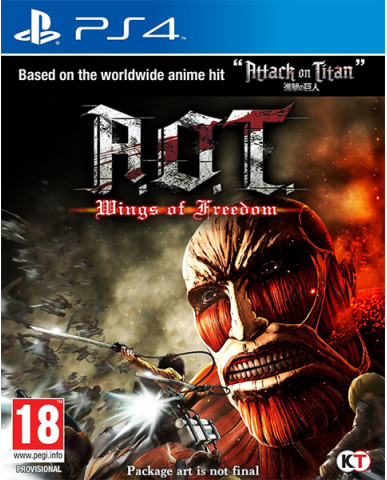 ATTACK ON TITAN: WINGS OF FREEDOM - PS4 GAME