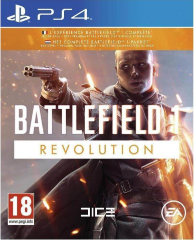 BATTLEFIELD 1 REVOLUTION - PS4 GAME