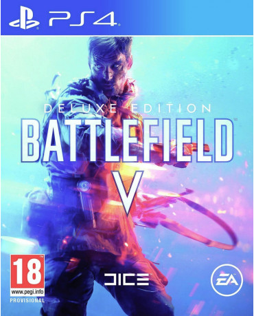 BATTLEFIELD V DELUXE EDITION - PS4 NEW GAME
