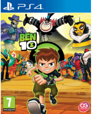 BEN 10 - PS4 GAME