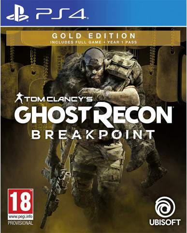 TOM CLANCY'S GHOST RECON BREAKPOINT GOLD EDITION - PS4 GAME