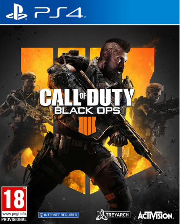 CALL OF DUTY BLACK OPS 4 - PS4 NEW GAME