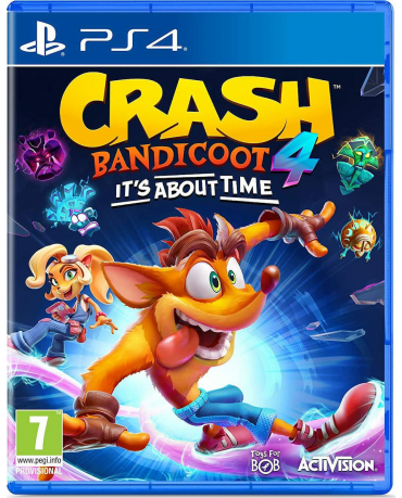 CRASH BANDICOOT 4: IT'S ABOUT TIME - PS4 GAME