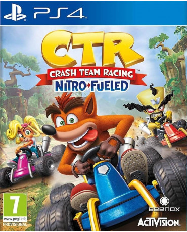 CRASH TEAM RACING NITRO-FUELED - PS4 NEW GAME
