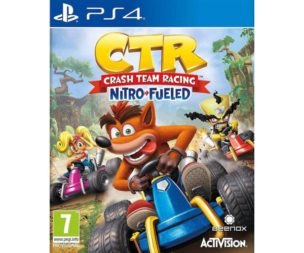 CRASH TEAM RACING NITRO-FUELED - PS4 NEW GAME