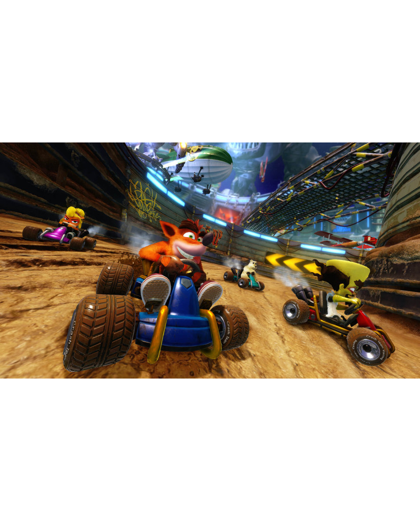 CRASH TEAM RACING NITRO-FUELED NITROS OXIDE EDITION - PS4 NEW GAME