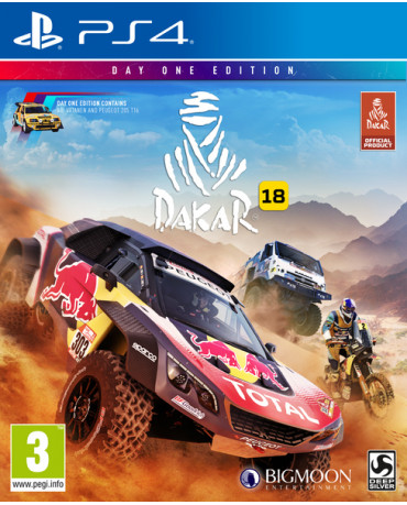 DAKAR 18 DAY ONE EDITION - PS4 NEW GAME