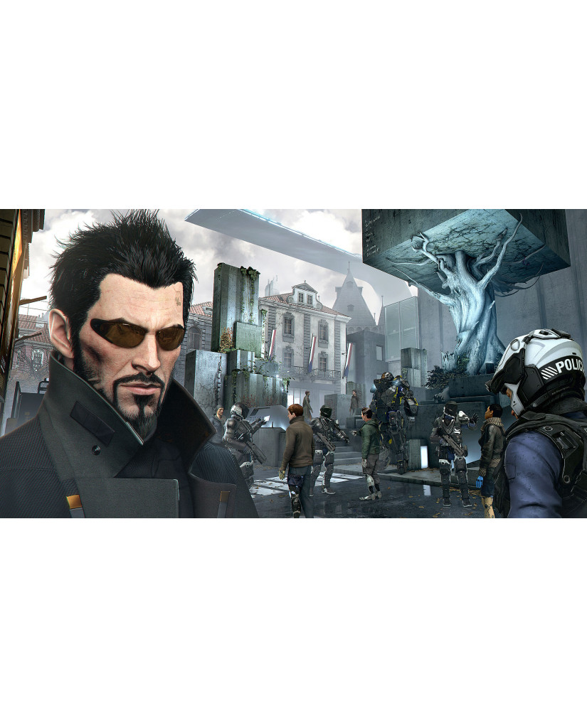 DEUS EX: MANKIND DIVIDED DAY ONE EDITION NO MANUAL ΜΕΤΑΧ. - PS4 GAME