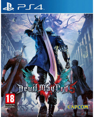 DEVIL MAY CRY 5 - PS4 NEW GAME