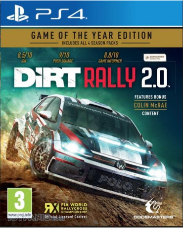 DIRT RALLY 2.0 GAME OF THE YEAR EDITION - PS4 GAME